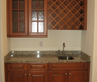 Custom Wet Bar 11 Waterfall Drive